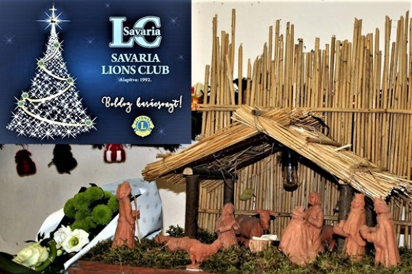 Savaria Lions Club Adventi záró programja 2018